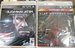 Metal Gear Solid V Phantom Pain Day One ED & Ground Zero -2