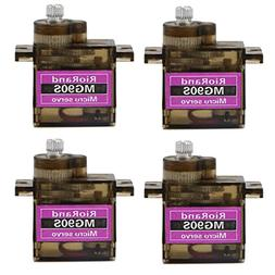 RioRand 4 x MG90S Metal Geared Micro Servo For Plane Helicop