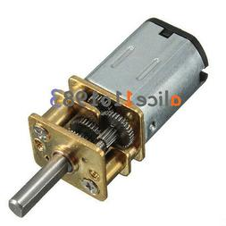 Micro Speed Reduction Gear Motor with Metal Gearbox Wheel DC