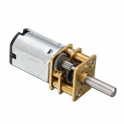 Mini Metal Gear Motor DC 6V 200RPM w/Gearwheel Model:N20 3mm