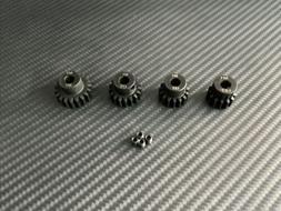 Mod 1 5mm 14T 16T 18T 20T Steel M1 Pinion Gear Set Fits Arrm