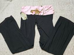 Mossy Oak Pink Camo Yukon Gear Womens Lounge Pants Extra Lar