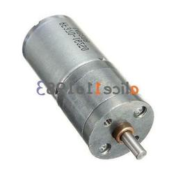 Motor Speed Reduction Gear Motor Electric 12V DC 60RPM Power