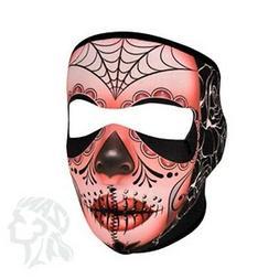 Zan Headgear Neoprene Full Mask - Sugar Skull