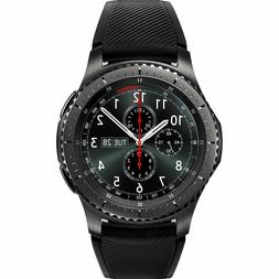 New Samsung Gear S3 Frontier SM-R765V 46mm 4G LTE Wi-Fi Tize