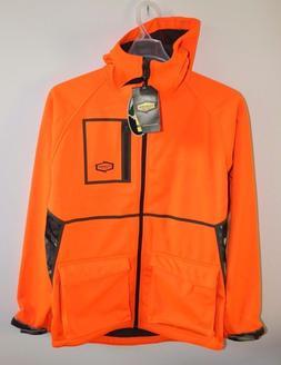 New Yukon Gear hooded soft shell fleece lined jacket mens si