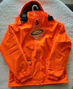 New Men's Yukon Gear Blaze Orange Waterproof Insulated Hoode