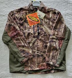 New Men's Camo Yukon Gear Half Zip Fleece Pullover Scent Fac