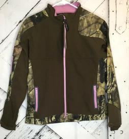 New Yukon Gear Women's Windproof Softshell Fleece Jacket Mos
