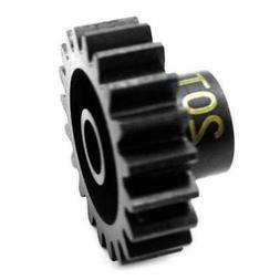Hot Racing NSG20M1 20T Steel Mod 1 Pinion Gear 5mm
