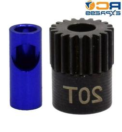Hot Racing NSG820 20T 48P Steel Pinion Gear 5mm or 1/8 Bore