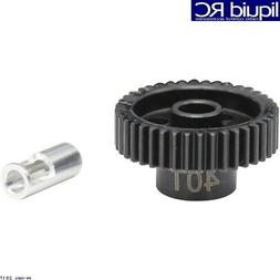 Hot Racing NSG840 40T steel 48p Pinion Gear 5mm & 1/8