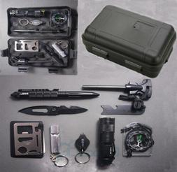 outdoor emergency survival gear kit camping tactical