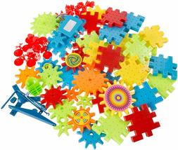 Play! 81 Piece Interlocking Gear Building Set- STEM Learning