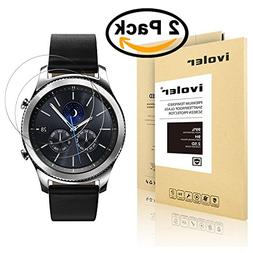iVoler  Screen Protector for Samsung Gear S3 classic / fron