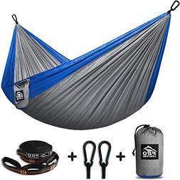 Proventure Camping Hammock & FREE Tree Straps - Lightweight
