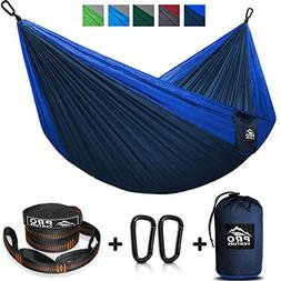 ProVenture Double Camping Hammock & FREE 9ft straps - Lightw
