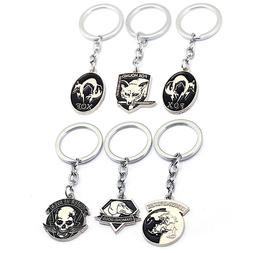 PS4 Game Metal Gear Solid V Logo Metal Pendant Keychain