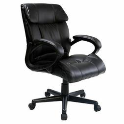 PU Leather Ergonomic High Back Executive Best Desk Task Offi