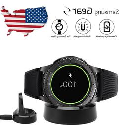 For Samsung Gear S2 S3 Qi Wireless Charging Dock Cradle Char