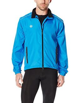 Canari Cyclewear Men's Razor Convertible Jacket, Breakaway B