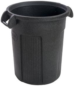 Toter RBR32-R1GRS Atlas Heavy Duty Round Trash Can, 32-Gallo