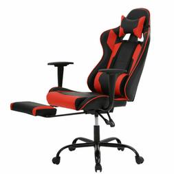 Red and Black Premium Leather Gaming Chair