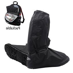 Shoes Boots Cover - Reusable Waterproof Foldable Motorcycle