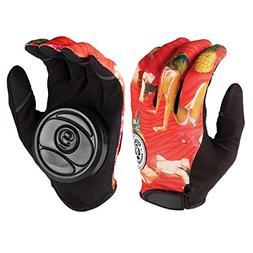 Sector 9 Rush Slide Gloves Red L