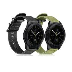For Samsung Galaxy Watch 42mm / Gear Sport 20mm Band Nylon R