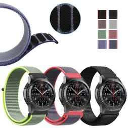 For Samsung Galaxy Watch 46mm / Gear S3 Frontier Classic Nyl