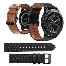 For Samsung Galaxy Watch Active 2 40/44mm Genuine Leather Wr