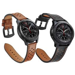 For Samsung Gear S3 Frontier / Classic Watch Genuine Leather