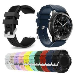 Samsung Gear S3 / Galaxy Watch 46mm Band Strap Rugged Silico