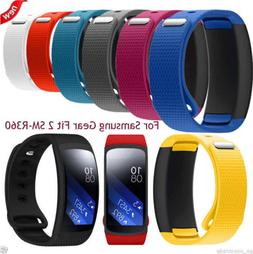 Silicone Replacement Band Strap Wristband For Samsung Gear F