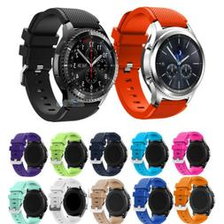 Silicone Bracelet Strap Watch Band For Samsung Gear S3 Front