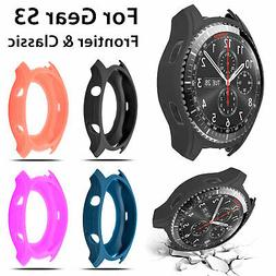 Silicone Slim Smart Watch Case Cover Protector For Samsung G