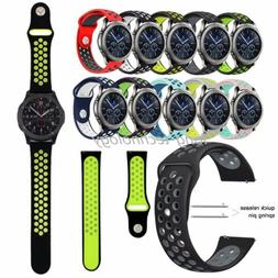 Silicone Sport Band For Samsung Gear S3 Classic / Frontier W