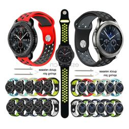 Silicone Sport Wrist Band Watch Strap For Samsung Gear S3 Cl