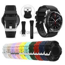 22mm Silicone Sport Wrist Watch Band Strap For Samsung Gear