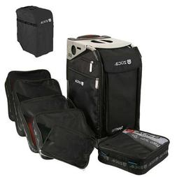 Zuca Travel Pro Silver Frame with Black Insert Bag & Travel