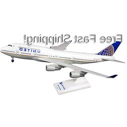 Daron Skymarks United 747-400 Post Co Merge Model Kit with G