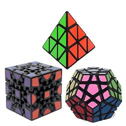 Bundle Pack Speed Cube Set of 3 Pyraminx Pyramid Speedcubing