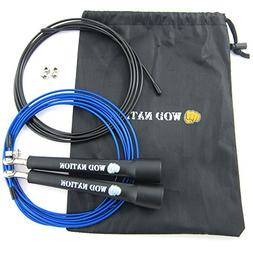 WOD Nation Speed Jump Rope - Blazing Fast Jumping Ropes - En