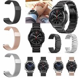 Stainless Steel Frosted Watch Strap Band Bracelet Wrist 22mm