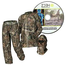 HECS Stealthscreen Suit Mossy Oak Breakup Country Camo Size