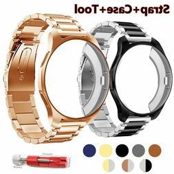 Strap+Case 20/22mm Watch Band Samsung Gear S3 Frontier Galax