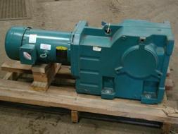 Baldor Reliancer SuperE Gear Motor 5 HP 10:1 208-230/460V 17