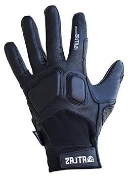Atlas Truck Co. Touch Longboard Slide Gloves Small/Medium Bl