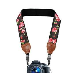 TrueSHOT Camera Strap with Floral Neoprene Design, Accessory